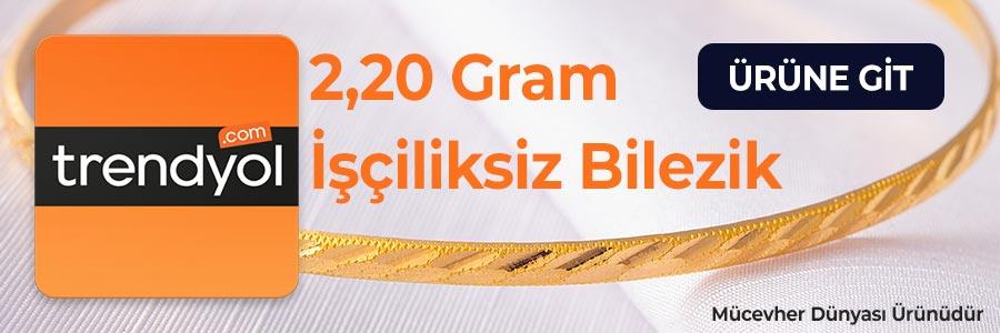 2,20 Gram İşçiliksiz Bilezik