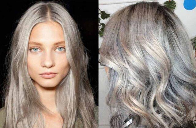 Küllü Saç Rengi - Kül Rengi Saç Modelleri