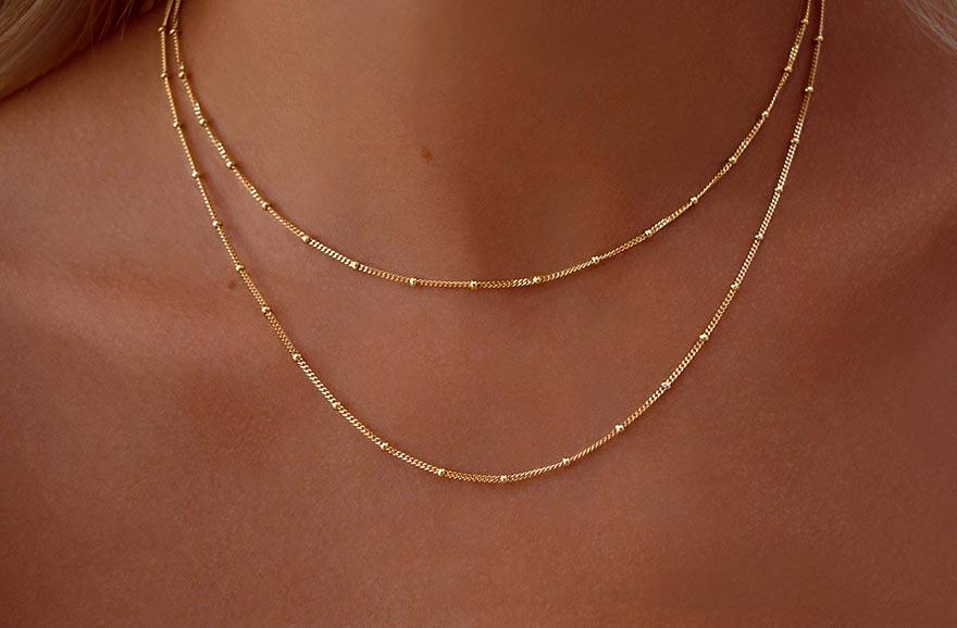 Altın Kolye Zincir Modelleri ve Fiyatları